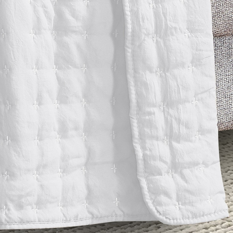 stone washed quilted blankets throw