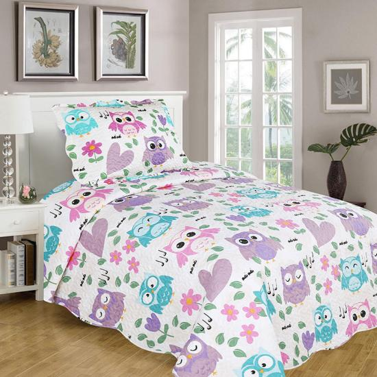 best owl quilts images girl full bedding sets