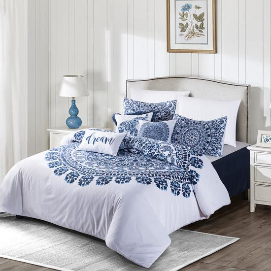 blue elephant fluffy bed comforters