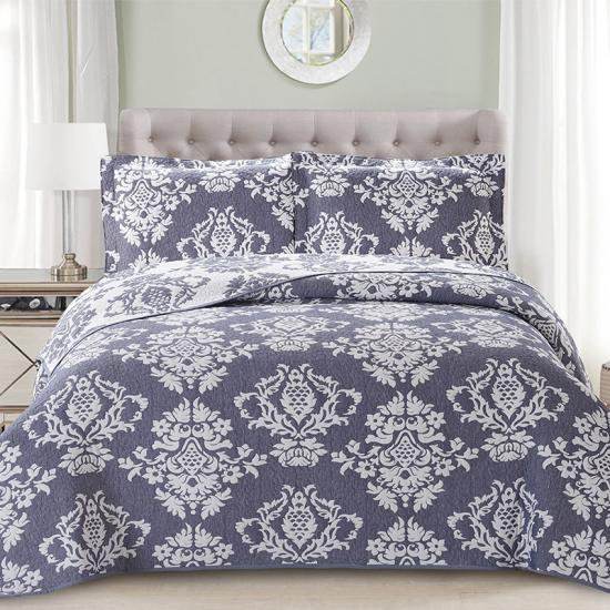 damask quilt bedding