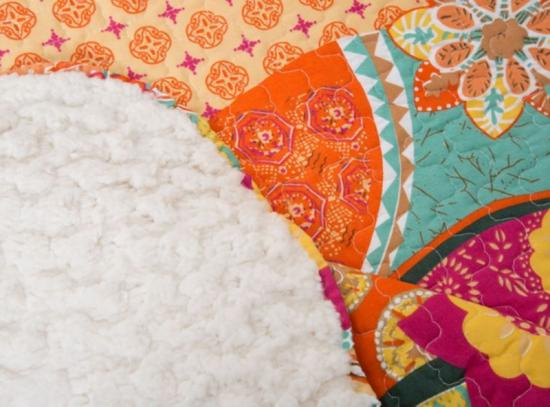 quilted reversible sherpa quilts and bedspreads